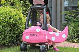 Cozy Coupe To Minnie Mouse Tutorial  PinkWhen