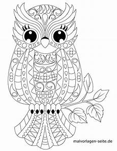 coloring page animal mandala owl animals mandala