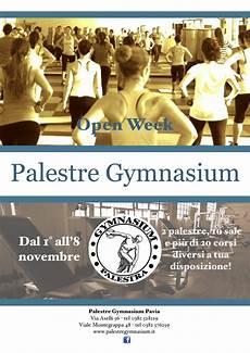 palestre gymnasium pavia vi aspettiamo all open week palestre gymnasium