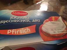 Griechischer Joghurt Kalorien - milbona griechischer joghurt mit pfirsich kalorien neue