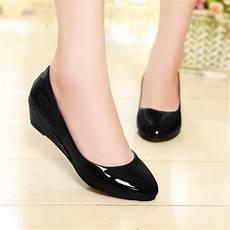 wedges heels cheap pointed toe low heels summer