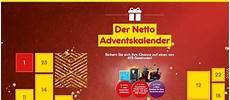 Netto Adventskalender Gewinnspiel 2018
