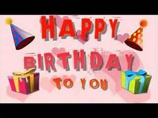 Happy Birthday To You Happy Birthday Song Joyeux