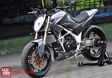 Modifikasi Motor Cb150r by Modifikasi Honda Cb150r Fighter Gambar Modifikasi