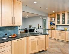 Kitchen Decorating Ideas With Maple Cabinets by Contemporary Maple Kitchen