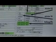 Erkl 228 Rung Fahrzeugschein Zulassungsbescheinigung