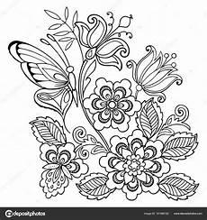 Malvorlagen Blumen Ornamente Malvorlagen Ornamente Blumen