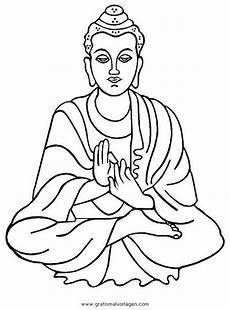 malvorlagen gratis zum ausmalen f 252 r kinder buddha kunst