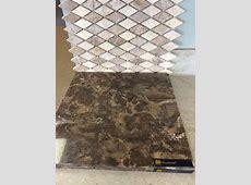Option 2 for bathroom. Backsplash with cambria quartz