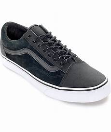 vans skool reissue dx black reflective shoes zumiez