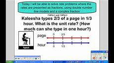 unit rate word problem worksheets 6th grade 11157 solving unit rate problems with number lines and complex fractions