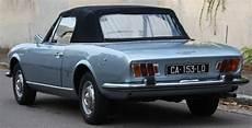 1969 Peugeot 504 Cabriolet En 1968 Peugeot