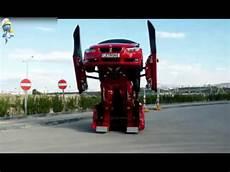 voiture qui se transforme une voiture bmw se transforme en robot