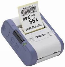 barcode co uk stock toshiba tec b sp2d mobile portable thermal label and receipt printer