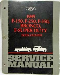 old car repair manuals 1995 ford f350 auto manual 1995 ford f150 f250 f350 pickup bronco super duty service body chassis manual