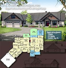craftsman ranch house plans plan 72937da rugged craftsman ranch home plan with angled