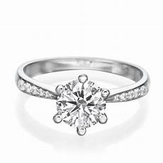 d vvs1 engagement ring 2 carat cut 14k white gold bridal jewelry ebay