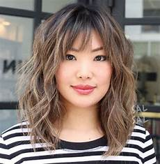 Asian Hairstyles With Bangs