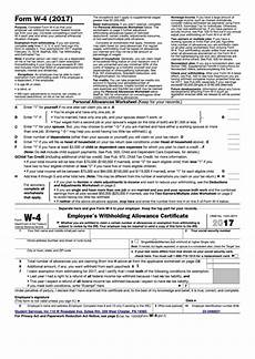 fillable form w 4 employee s withholding allowance certificate 2017 printable pdf download