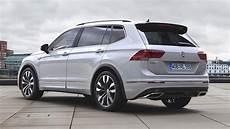 Volkswagen Tiguan Allspace R Line In White Continental