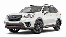2019 subaru forester sport 2 2019 subaru forester goes on sale with more power sharp