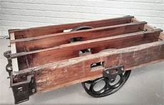 mill cart coffee table timber factory cart coffee table