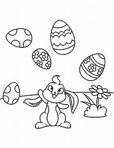 Ausmalbilder Osterhase Pdf Ausmalbilder Osterhasen Osterhase Jongliert Eier Zum