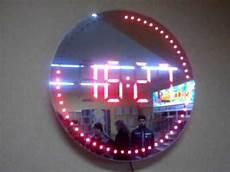 led wall clock youtube