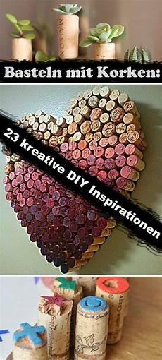 basteln mit korken 23 kreative diy inspirationen