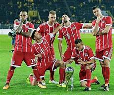 Cup 2017 Celebration Bayern Munich Fc Bayern