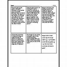 math word problems worksheets all operations 11364 sixth grade math word problems worksheets mixed operations math word problems edhelper