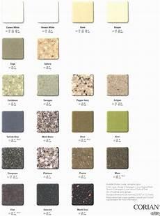 corian colors corian color sle chart corian countertops colors