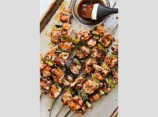 yakitori   seasoned chicken on skewers_image