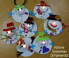 choices for children votive snowman ornaments