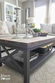 barn top coffee table