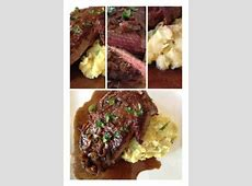classic entrecote bordelaise   steak in red wine with shallots_image