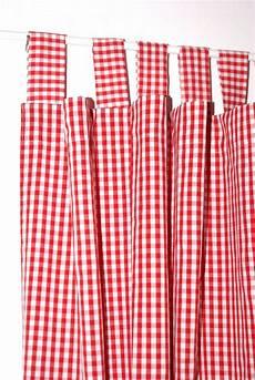 gardinen rot 70 vorhang kariert vorh 228 nge ideen