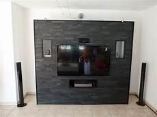 steinwand selber machen mit steinwand im wohnzimmer genial