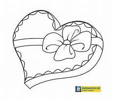 Valentinstag Malvorlagen Zum Ausdrucken Spanisch Valentinsherz Malvorlage Valentines Coloring