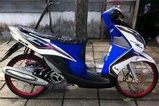Modifikasi Mio Simple by Modifikasi Mio Terbaru 2020 Simple Thailook Sporty