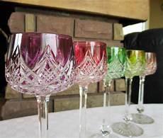 de verre prix verres en cristal de baccarat service colbert