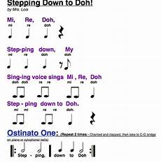 two solfege tunes using doh re mi simple songs with