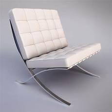 3d barcelona chair model