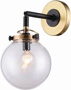 urban classic 1507w6bb leda modern burnished brass flat black wall light sconce urb 1507w6bb