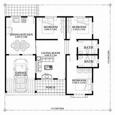three bedroomed bungalow house plans marifel delightful 3 bedroom modern bungalow house