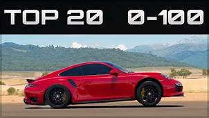 TOP 20 FASTEST 0 100 CARS  Forza Horizon 3 Crazy