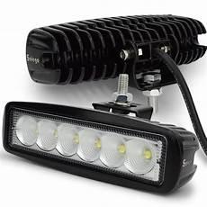 12 volt 18w led work light bar l 12v led tractor work