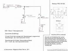 schaltplan 12v buchse mit sicherung schalter relais 2