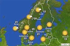 Schweden Wetterkarte