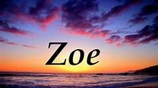 Zoe Significado Y Origen Nombre